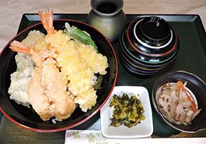 海老&鶏天丼