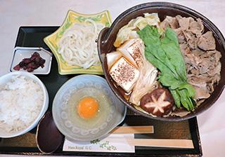 牛鍋定食(土日限定)