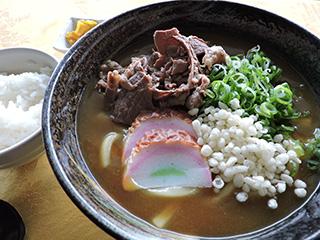 カレーうどん(そば)定食